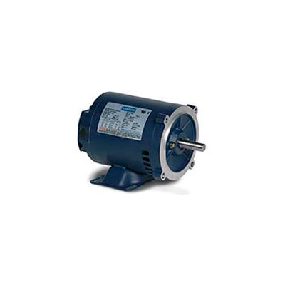 Leeson 121935.00, Premium Eff., 1 HP, 1725 RPM, 208-230/460V, 143TC, DP, C-Face Rigid