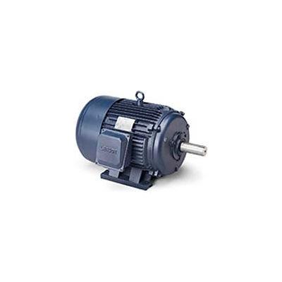 Leeson 171580.60, Premium Eff., 125 HP, 3580 RPM, 460V, 444TS, TEFC, Rigid