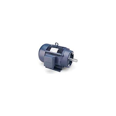Leeson 171566.60, Premium Eff., 5 HP, 1750 RPM, 208-230/460V, 184TC, TEFC, C-Face Rigid
