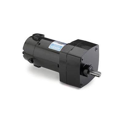 Leeson M1125003.00, 1/17 HP, 60 RPM, 90VDC, TENV, PZ, 30:1 Ratio, 56 In-Lbs