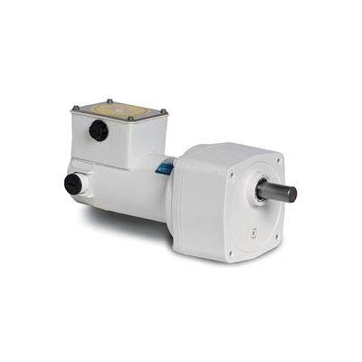 Leeson M1125271.00, 1/4 HP, 250 RPM, 90VDC, TENV, PE350, 10:1 Ratio, 45 In-Lbs