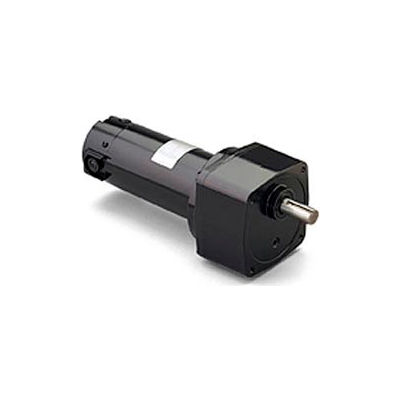 Leeson M1135148.00, 1/4 HP, 165 RPM, 180VDC, TENV, PE350, 15:1 Ratio, 70 In-Lbs