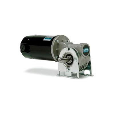 Leeson M1135294.00, 1/4 HP, 167 RPM, 12VDC, TENV, 512, 10.6:1 Ratio, 61 In-Lbs