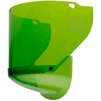 Paulson AmpShield® Green Replacement Window, ATPV 12 cals, Premium Anti-Fog Coating, AMP-12-RW
