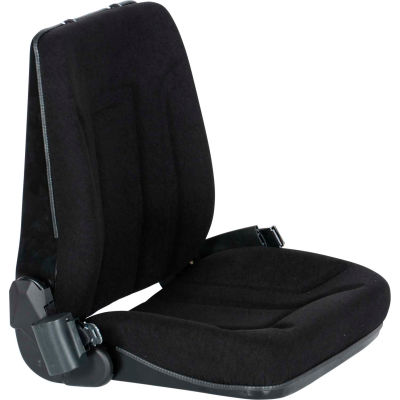 Deluxe Forklift Truck Seat LTSD-C - Cloth with Seat Belt