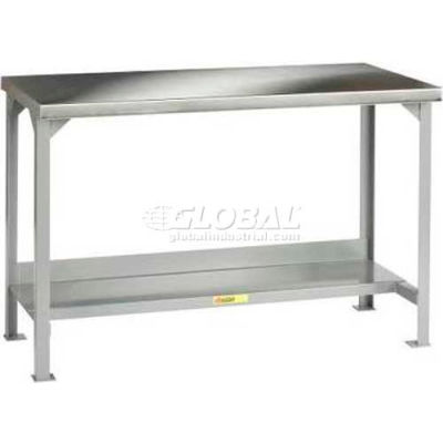 "Little Giant® WSS2-3048-36 16 Guage Workbench 304 Stainless Steel - 48""W x 30""D"