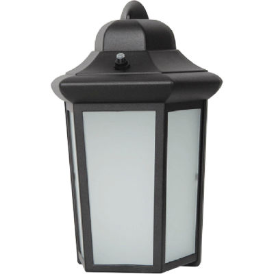 Luminance LED Wall Lantern F9937-31, 9 Watt, 700 Lumens, CRI 80, Black Frame