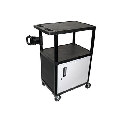 A/V Cart w/ Cabinet - 32x24x40-1/2