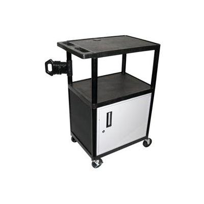A/V Presentation Station w/ Cabinet - 24x18x41