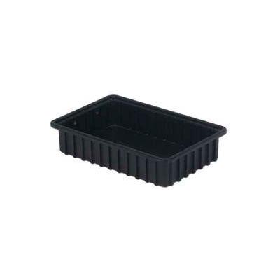 "LEWISBins ESD-Safe Divider Box DC2035xL - 16-1/2""L x 10-29/32""W x 3-1/2""H - Pkg Qty 8"