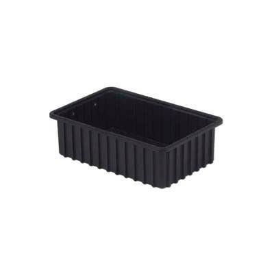 "LEWISBins ESD-Safe Divider Box DC2050xL - 16-1/2""L x 10-29/32""W x 5""H - Pkg Qty 8"
