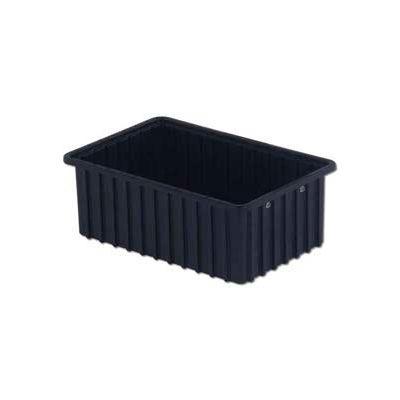 "LEWISBins ESD-Safe Divider Box DC2060xL - 16-1/2""L x 10-29/32""W x 6""H - Pkg Qty 8"