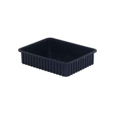 "LEWISBins ESD-Safe Divider Box DC3050xL - 22-13/32""L x 17-13/32""W x 5""H - Pkg Qty 4"