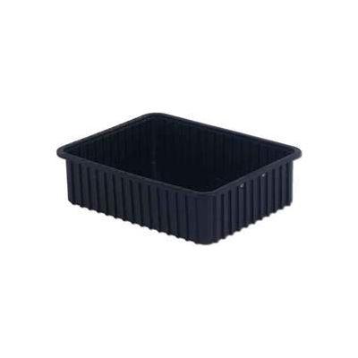"LEWISBins ESD-Safe Divider Box DC3060xL - 22-13/32""L x 17-13/32""W x 6""H - Pkg Qty 4"