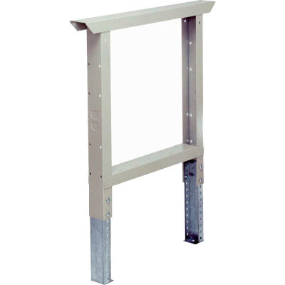 Adjustable Workbench Leg Gray 28 inch.  Each
