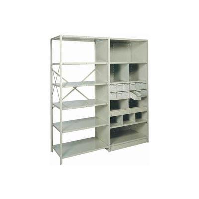 "Shelf Divider, 18""Dx6""H Gray (12) pcs"
