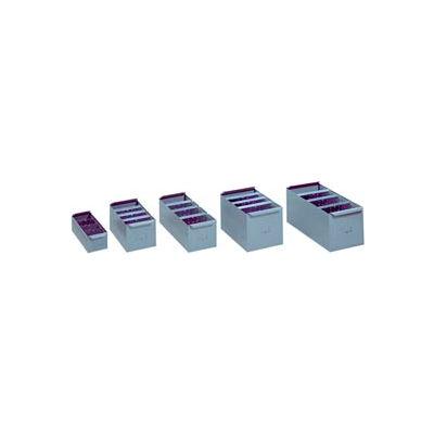 """Lyon Steel Shelf Box PP8115 - 5-21/32""""W x 23-1/4""""D x 4-5/ 6""""H, Putty"""