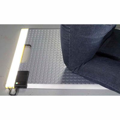 Ergomat® Portable LED Kneeling Mat 1.5' x 2' Black
