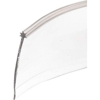 Prime-Line M 6227 Shower Door Star Bottom Seal, Clear