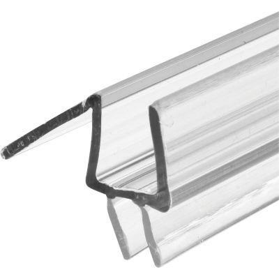 Prime-Line M 6258 -1 Frameless Shower Door Bottom Seal, 3/8 in. x 36 in., Vinyl, Clear
