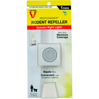 Victor Pestchaser Rodent Repellent with Nightlight, Sonic Repellent - 1/Pack - M751K