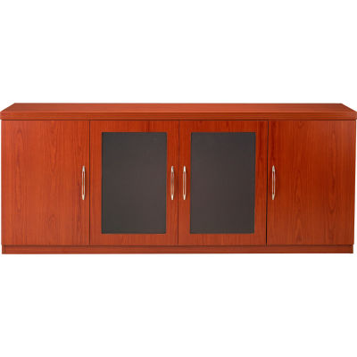 Safco® Aberdeen Series Low Wall Credenza Cherry