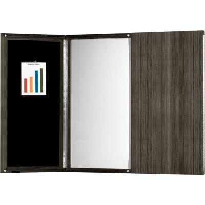 Safco® Medina Series Presentation Board Gray Steel