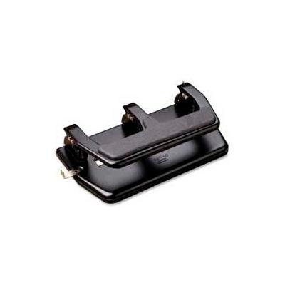 Master® MP50 3-Hole Punch, 40 Sheet Capacity, Black