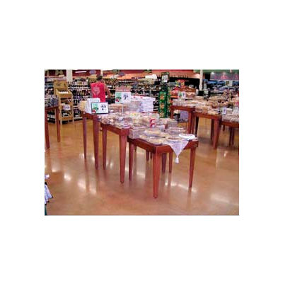 Set 3 Nesting Tables W/ Wood Tops, Wood, Opticlear Lacquer, Select Cherry - Pkg Qty 3