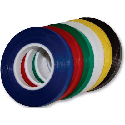 "Magna Visual® Vinyl Chart Tape, 324""W x 1/8""H, Blue"