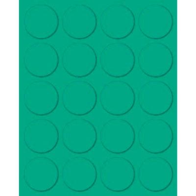 "Magna Visual® Magnetic Circles, 3/4""W x 3/4""H, 20/Pack"