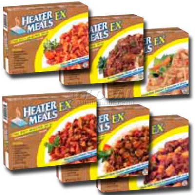 Mayday Industries Heater Meals Assorted Case, 9 oz. Meal, 12 Per Case
