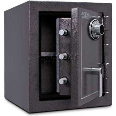 "Mesa Safe Burglary & Fire Safe Cabinet MBF1512C 2 Hr Fire Rating, Combo Lock, 17-1/4""Wx18-3/4""Dx20""H"