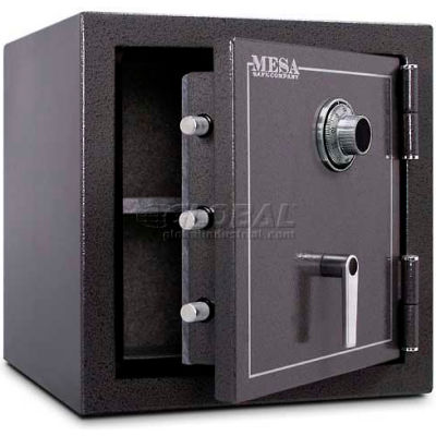 "Mesa Safe Burglary & Fire Safe Cabinet MBF2020C 2 Hr Fire Rating, Combo Lock, 22""W x 22""D x 22-1/2""H"