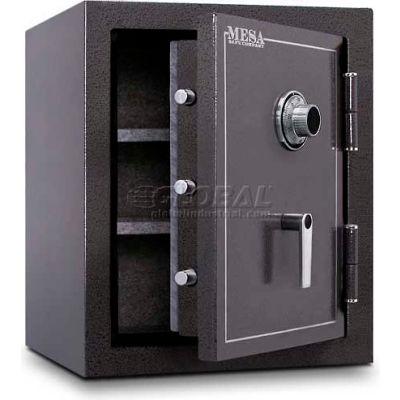 "Mesa Safe Burglary & Fire Safe Cabinet MBF2620C 2 Hr Fire Rating, Combo Lock, 22""W x 22""D x 26-1/2""H"