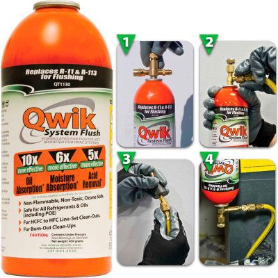 Qwik System Flush® Orange QT1130 - 1 Lb. Aerosol Container