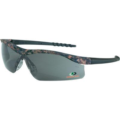 MCR Safety® Mossy Oak® Dallas® MODL112 DL1 Safety Glasses, Camo Frame, Gray Lens