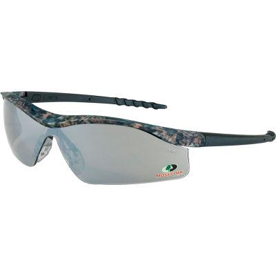 MCR Safety® Mossy Oak® Dallas® MODL117 DL1 Safety Glasses, Camo Frame, Silver Lens