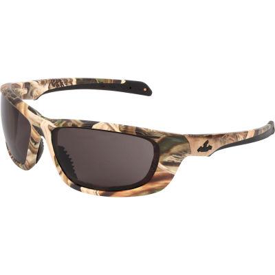 MCR Safety® Mossy Oak® Blades® UD1 Safety Glasses, Camo Frame, Gray Lens, Anti-Fog