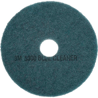 3M™ Blue Cleaner Pad 5300, 19 in, 5/case