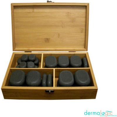 AYC Group Salon Polish Massage Stone Set - Black - 36 Pack