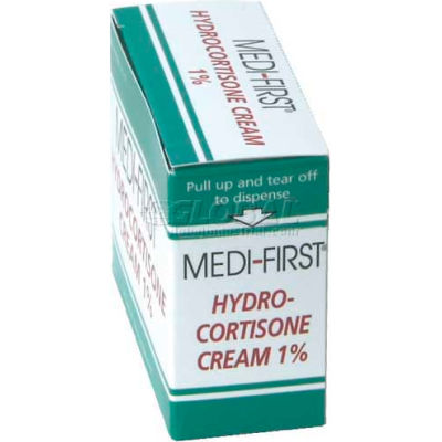 Hydrocortisone Cream 1%, 1g Foil Pack, 25/Box
