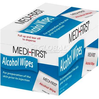 "Alcohol Prep Pads, 1"" x 2 1/2""Pad,  50/Box"