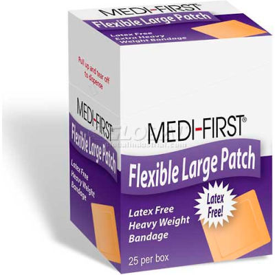 Woven Adhesive Bandage, Extra Heavy Weight, 2 x 3, 25/Box