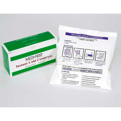 "Ice Pack, 4"" x 6"" Boxed, 1/Box"
