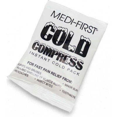 "Medi-First® Ice Pack, 4"" x 6"", Unboxed, 7241M"