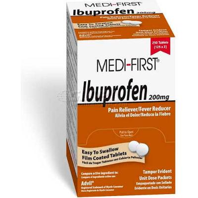 Ibuprofen, 200mg, 250/Box
