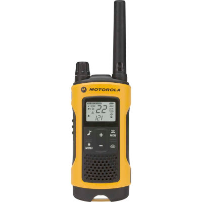Motorola Talkabout® T402 Two-Way Radios, Yellow/Black - 2 Pack
