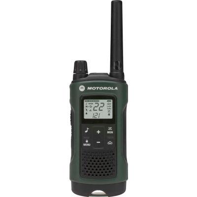 Motorola Talkabout® T465 Two-Way Radios, Green/Black - 2 Pack