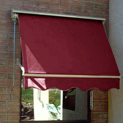 Awntech MS3-B, Retractable Window Awning 3'W x 2'D x 2'H Burgundy